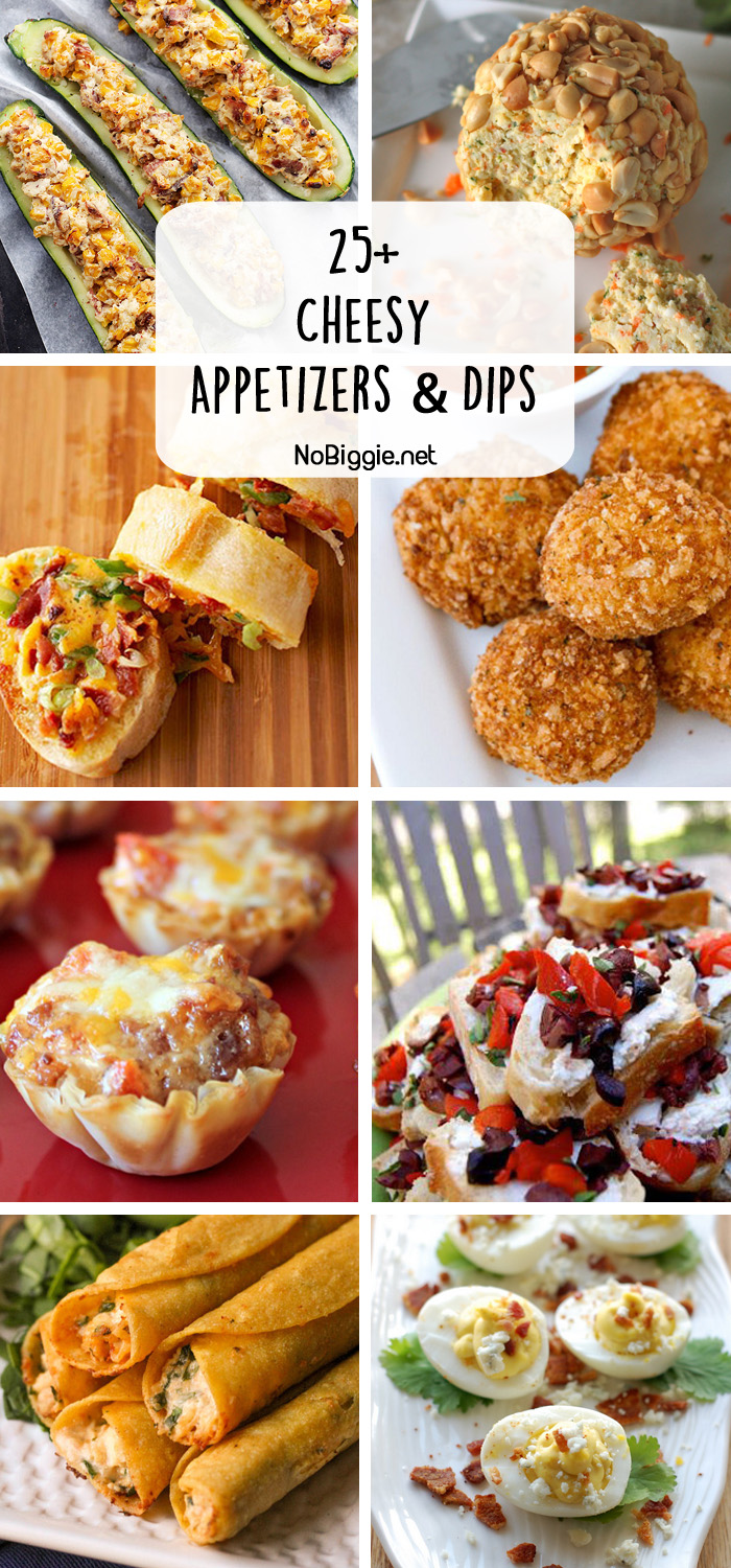 25+ cheesy appetizers and dips | NoBiggie.net