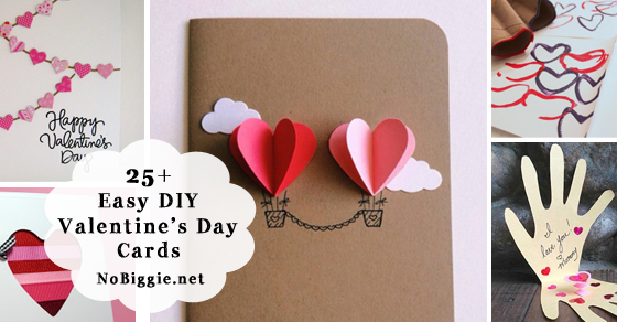 25 easy diy valentines day cards m4hsunfo