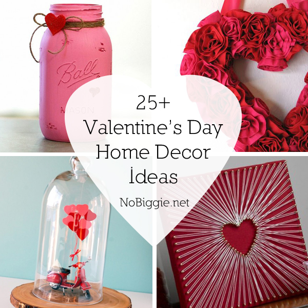 25 valentine 39 s day home decor ideas for Valentine s day home decorations