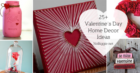 25 valentines day home decor ideas - Valentine Home Decorations