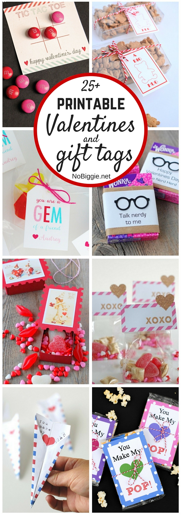 25+ printable Valentines and gift tags | NoBiggie.net