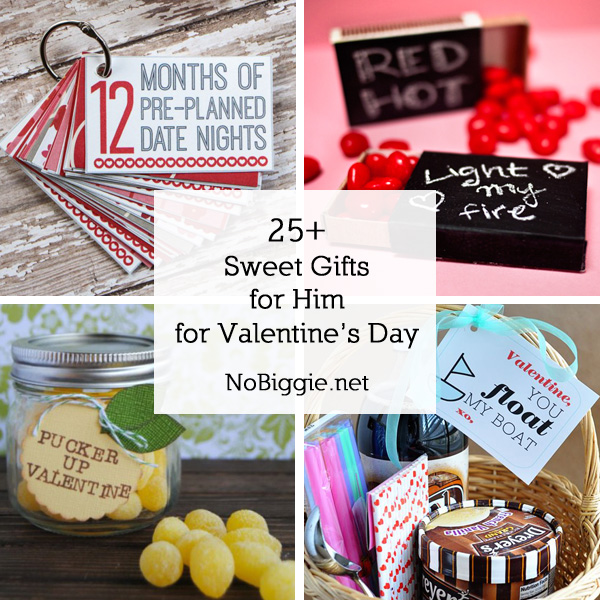25 Sweet Gifts For Him Valentine S Day Nogie