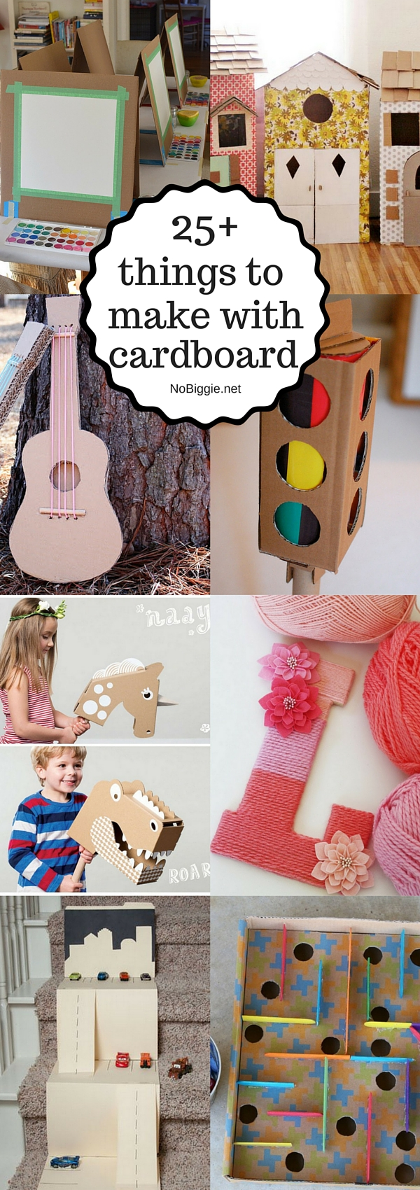 25+ things to make with cardboard | NoBiggie.net