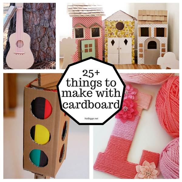 25+ Things to make with cardboard | NoBiggie.net