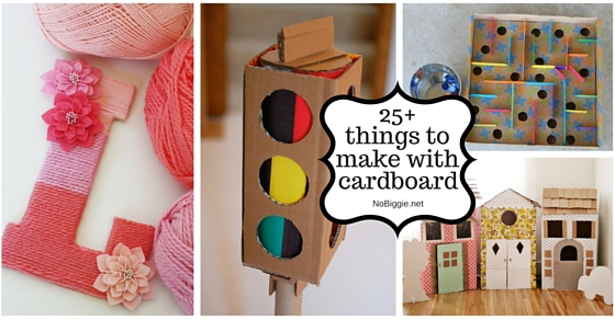 Easy stuff to make out of cardboard