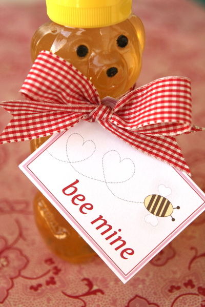 Bee mine honey bear