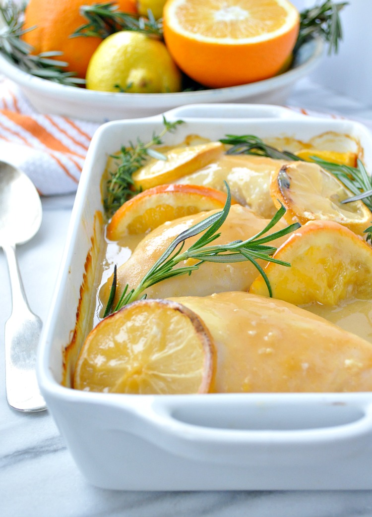 Citrus and Herb Baked Chicken