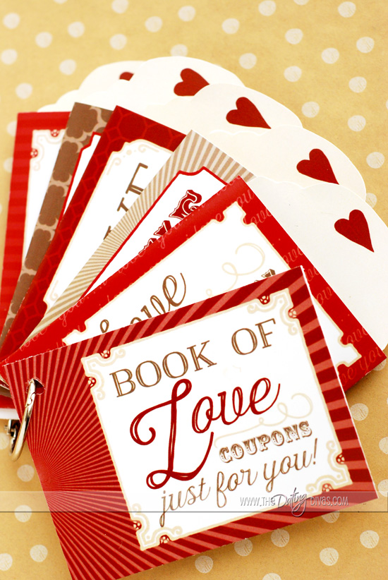 DIY Love Coupon Gift Idea