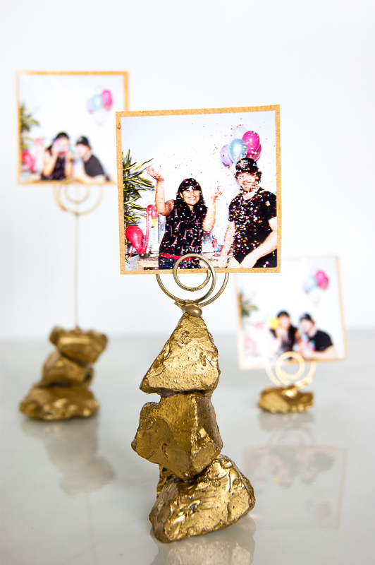 Golden Nugget Photo Holder