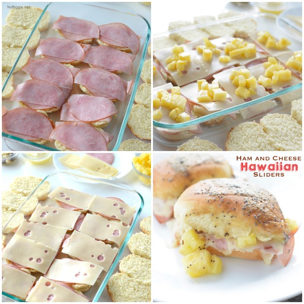 Ham and Cheese Hawaiian Sliders these are so good! | NoBiggie.net