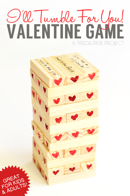 I'll Tumble For You! Valentine Game