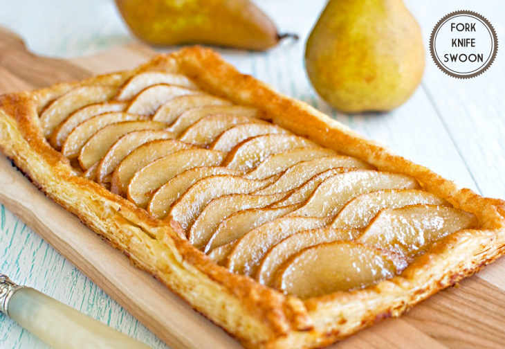 Ginger Pear Puff Pastry Tarts | 25+ Puff Pastry Dough Recipes