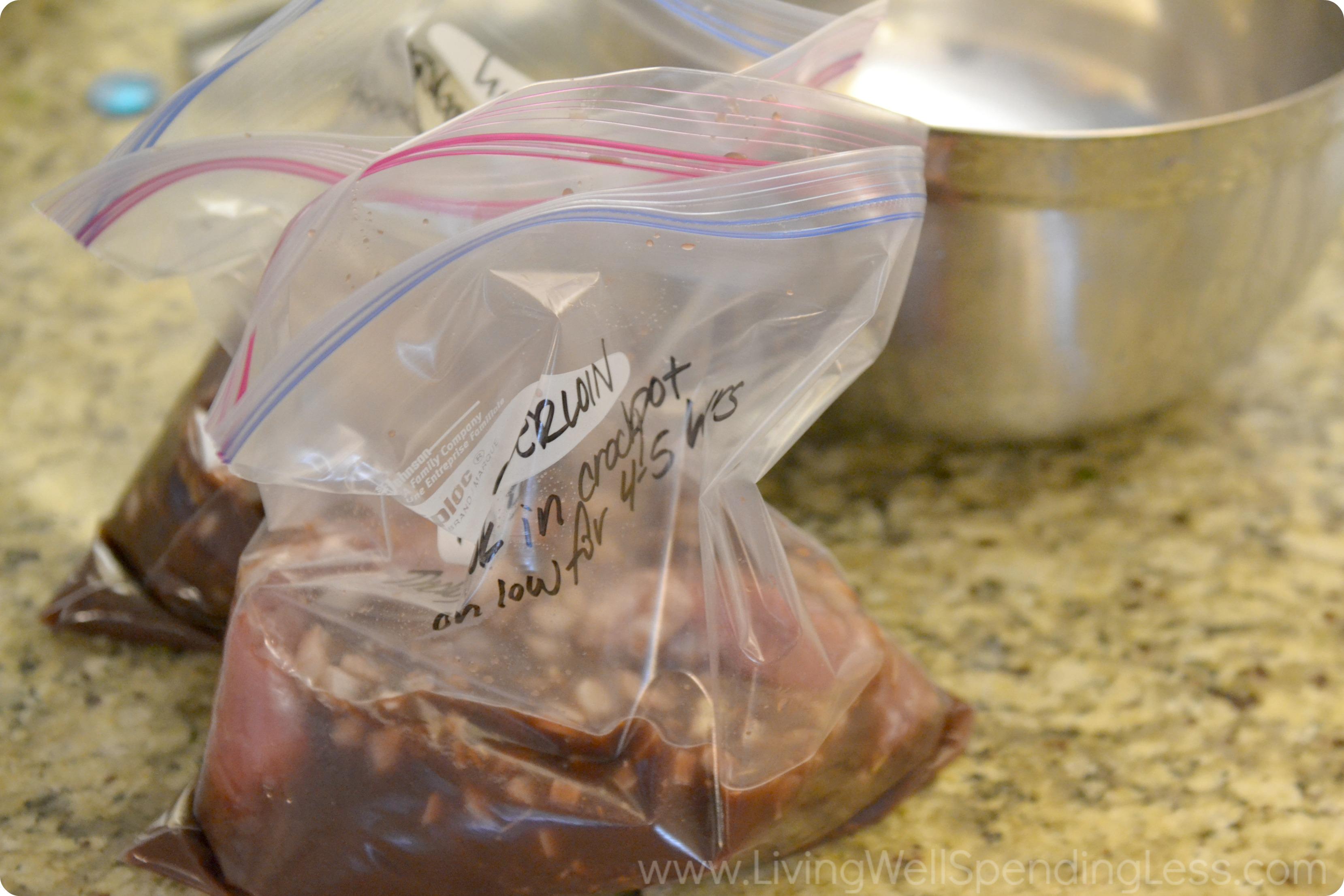 Slow Cooked Pork Tenderloin | 25+ Freezer to Crockpot Meals