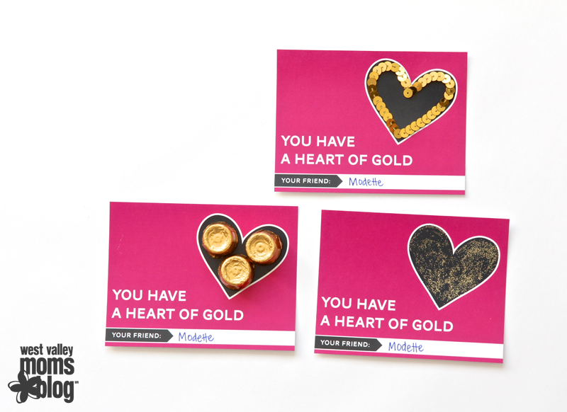 You have a Heart of Gold Valentine free printable