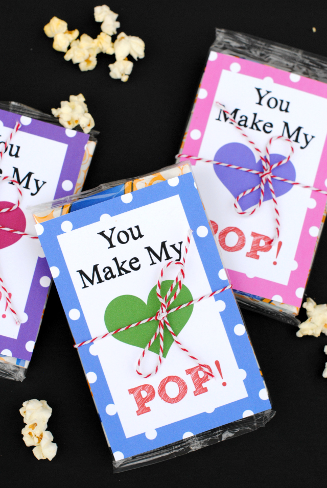 You make my heart pop! Valentine's Day Idea