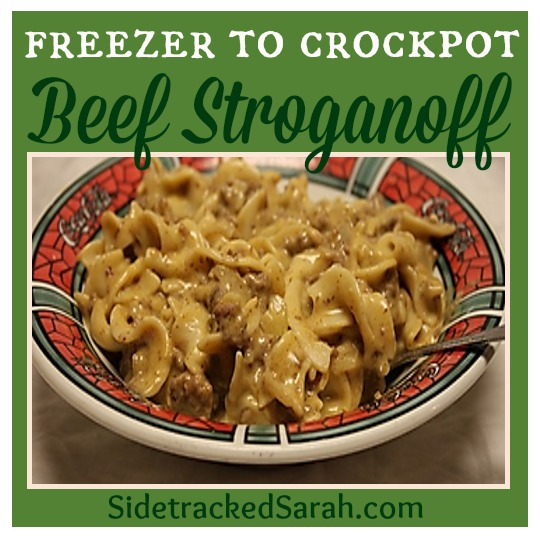 beef stroganoff freezer to crockpot | 25+ Freezer to Crockpot Meals
