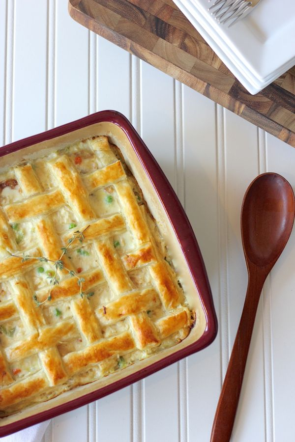 Chicken Pot Pie | 25+ Puff Pastry Dough Recipes
