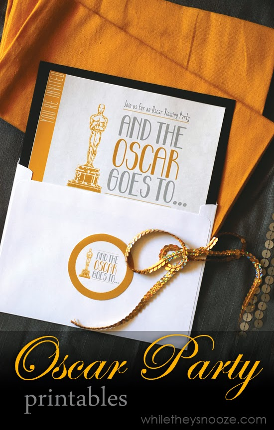 free oscar party invitations | 25+ Oscar Party Ideas