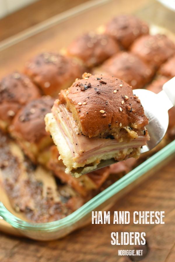 ham and cheese sliders recipe | NoBiggie.net