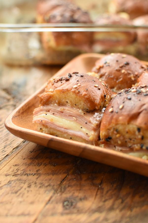 ham and cheese sliders with Kings Hawaiian Rolls | NoBiggie.net
