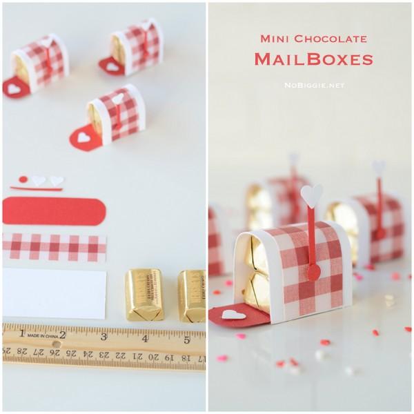 mini chocolate mailboxes | Video on NoBiggie.net