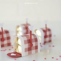 Mini Chocolate Mailboxes
