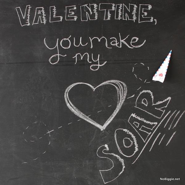 printable paper airplane valentine NoBiggie.net