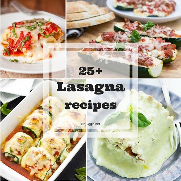 25+ Lasagna recipes   NoBiggie.net