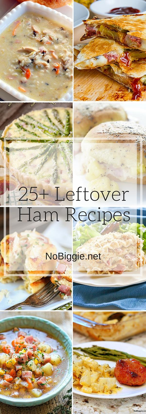 25+ Leftover Ham Recipes | NoBiggie.net