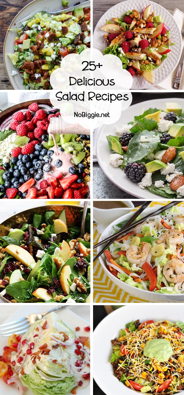 25+ delicious salad recipe ideas | NoBiggie.net