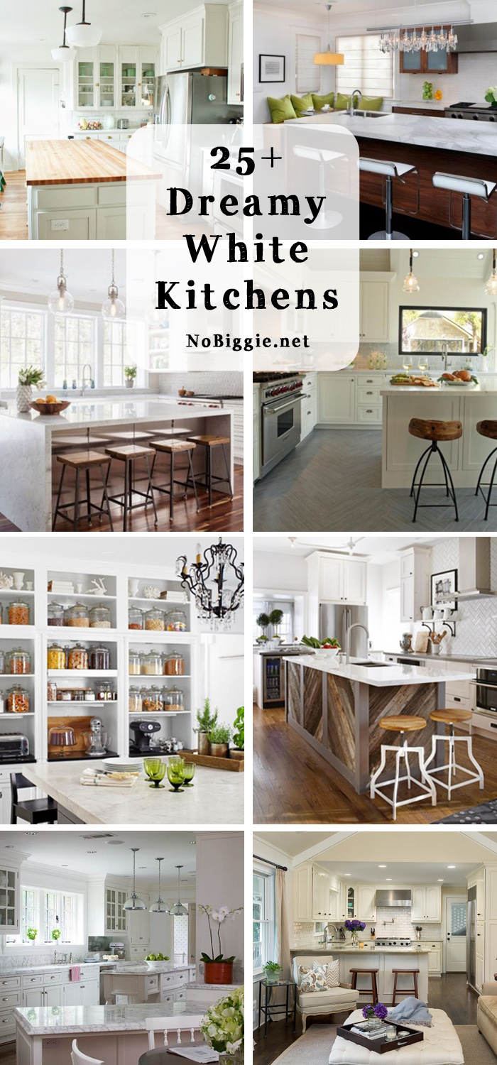 25+ dreamy white kitchens | NoBiggie.net