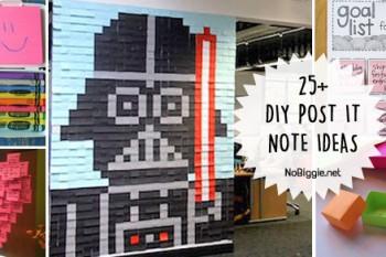 25+ Post It Note DIY Ideas