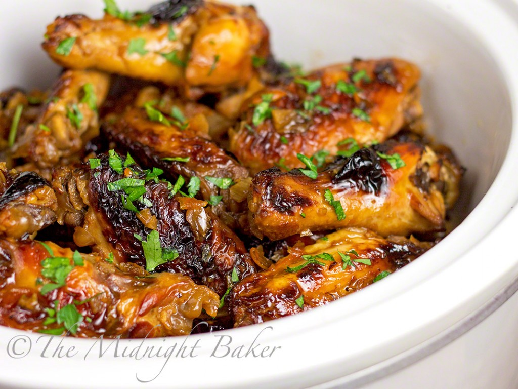 Asian Orange Wings | 25+ slow cooker appetizer recipes