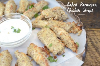 Baked Parmesan Chicken Strips