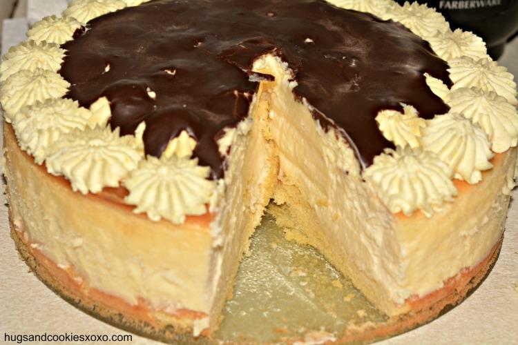 Boston Cream Pie Cheesecake | 25+ Cheesecake Recipes
