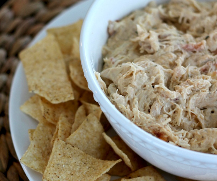 Chicken Crack Dip | 25+ slow cooker appetizer recipes