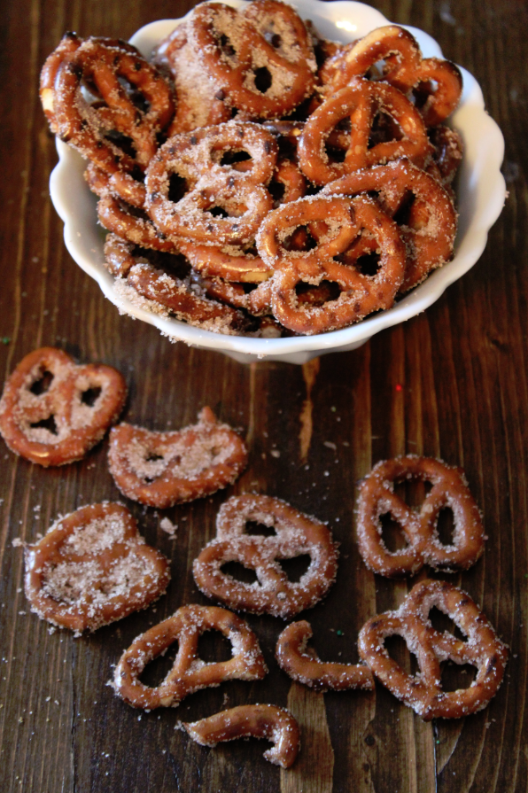 Cinnamon Sugar Pretzels | 25+ Pretzel Recipes