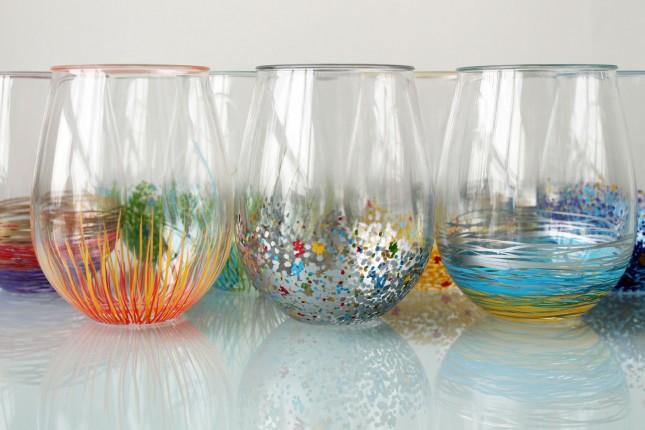 DIY Glassware with sharpies | 25+ Sharpie Crafts