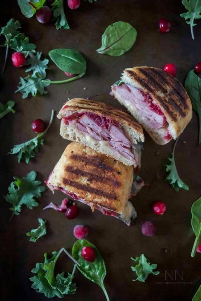 Ham Cheddar and Cranberry Melt | 25+ Leftover Ham Recipes