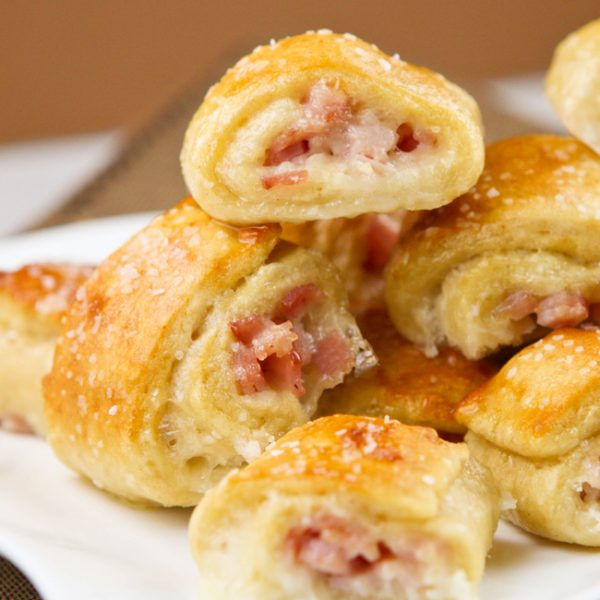 Ham and Cheese Pretzel Bites | 25+ Pretzel Recipes