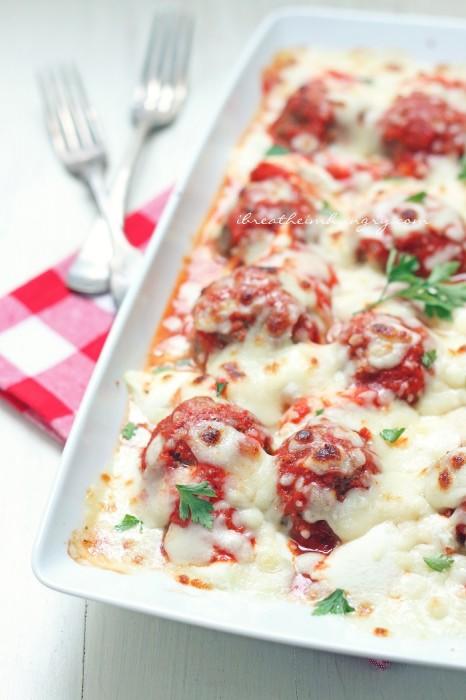 Low Carb Lasagna Meatballs Recipe   25+ Lasagna Recipes