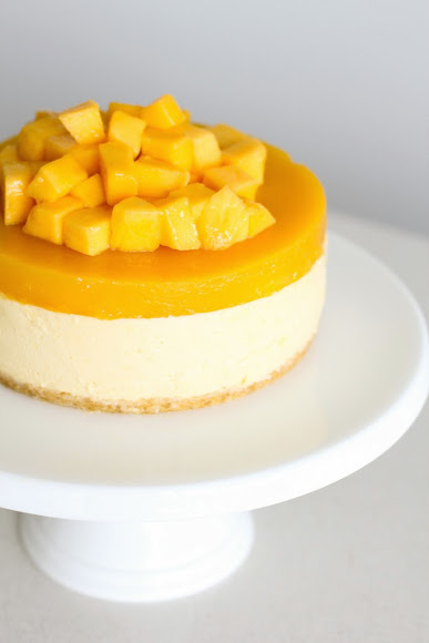 Mango Cheesecake | 25+ Cheesecake Recipes