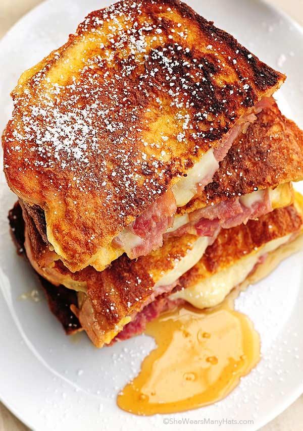 Monte Cristo Sandwich | 25+ Leftover Ham Recipes