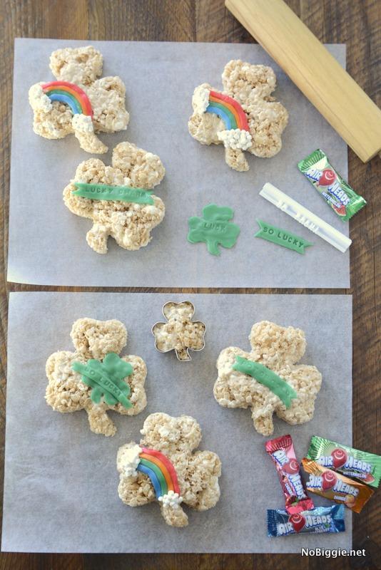 St. Patrick's Day Rice Krispie Treats | NoBiggie.net