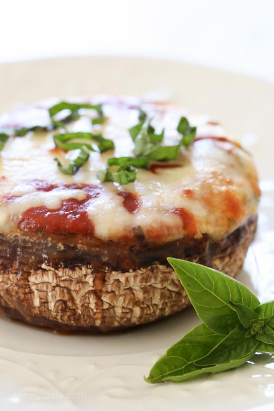Veggie Lasagna Stuffed Portobello Mushrooms   25+ Lasagna Recipes