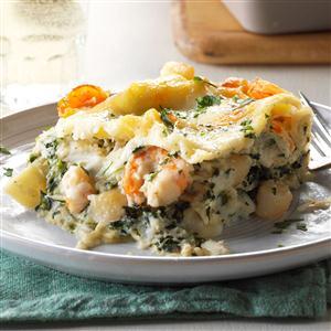White Seafood Lasagna   25+ Lasagna Recipes