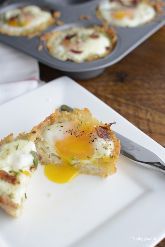 hash brown bacon egg cups | NoBiggie.net