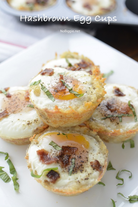 hash brown egg and bacon cups | NoBiggie.net