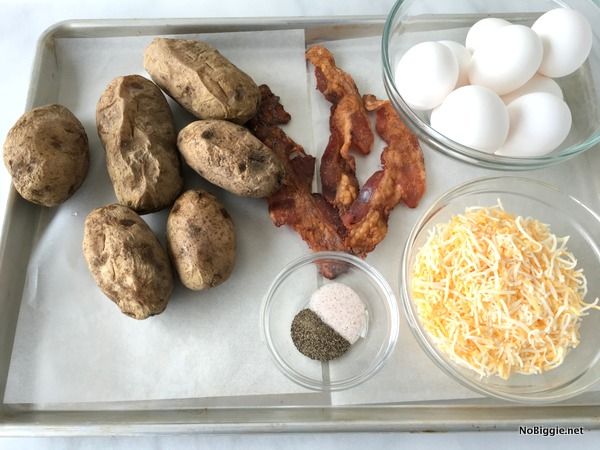 ingredients to make hash brown cups | NoBiggie.net