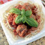 Gluten Free Spaghetti and Meatballs   NoBiggie.net